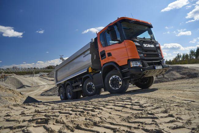 XT - новата гама на Scania за тежки приложения