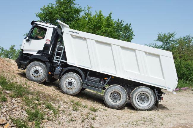 Пълзящи предавки за камионите на Renault