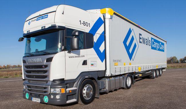 Ewals Cargo Care разчита на Scania в България