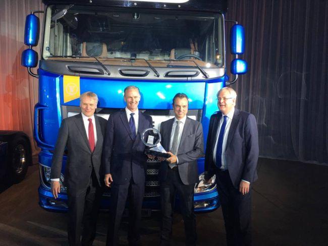 Новата гама DAF CF/XF е Камион на 2018 година