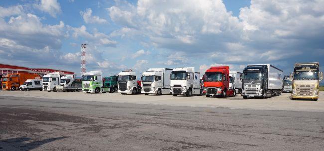 2543 нови камиона, регистрирани в България през 2017