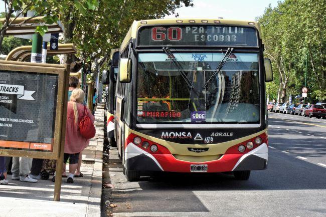 Общественият транспорт в Аржентина поскъпва с 60%