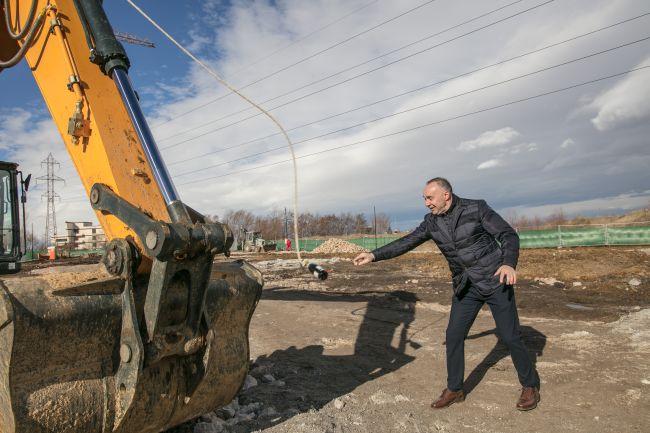 Първа копка на нов център Примекс в София