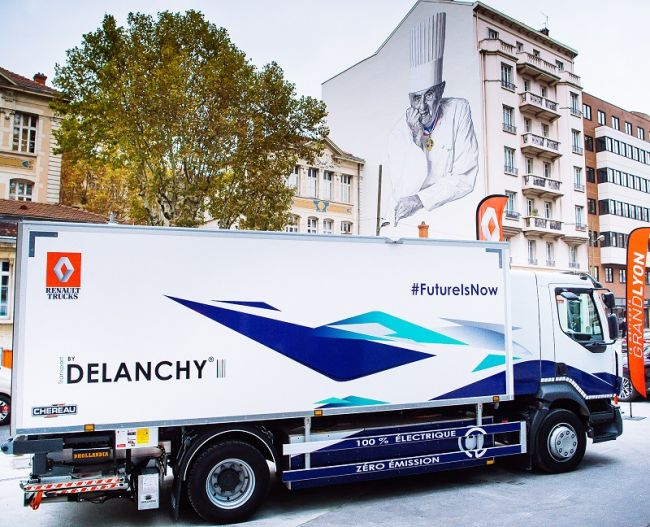 Електрически камиони Renault Trucks – през 2019