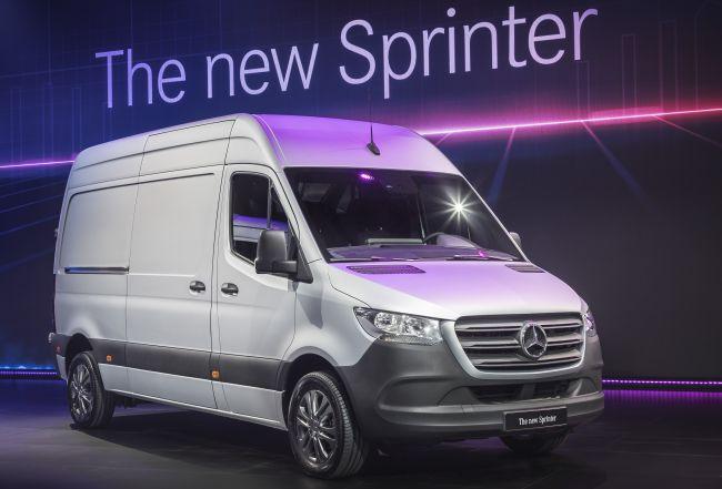 Световна премиера на новия Mercedes-Benz Sprinter