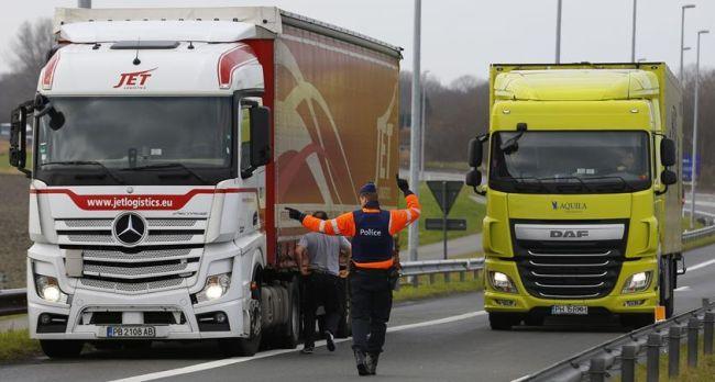 2,6% са българските камиони в Белгия