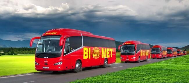 Седем нови Scania Irizar i6s за БИОМЕТ