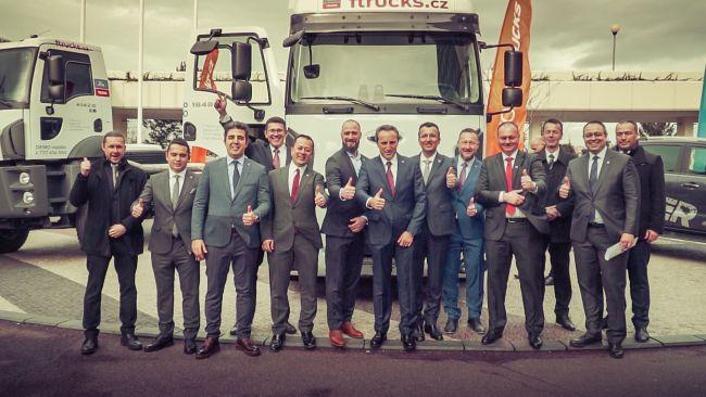 F Trucks е вносителят на Ford Trucks в Чехия