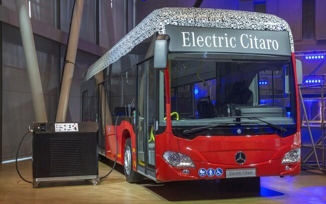 Това е Mercedes-Benz Electric Citaro
