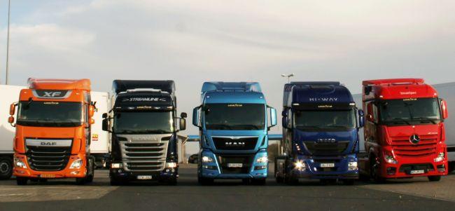 215 нови камиона у нас през февруари