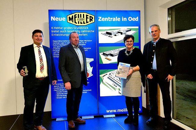 Meiller строи нов завод в Австрия