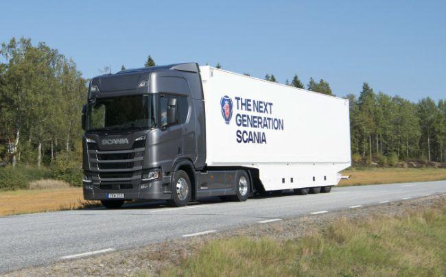 Scania R500 е Зелен камион на 2018 година