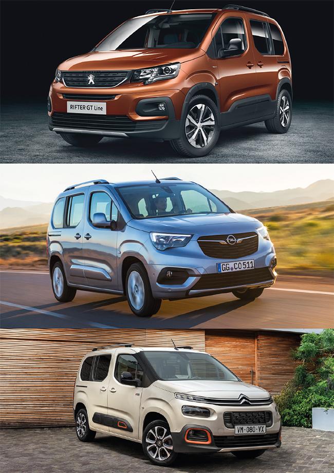 Нови тризнаци от Peugeot, Citroёn и Opel/Vauxhall