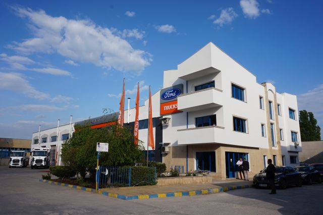 Новият сервиз на Ford Trucks в Пловдив (видео)