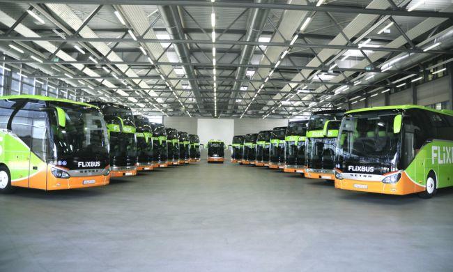 15 автобуса Setra за FlixBus