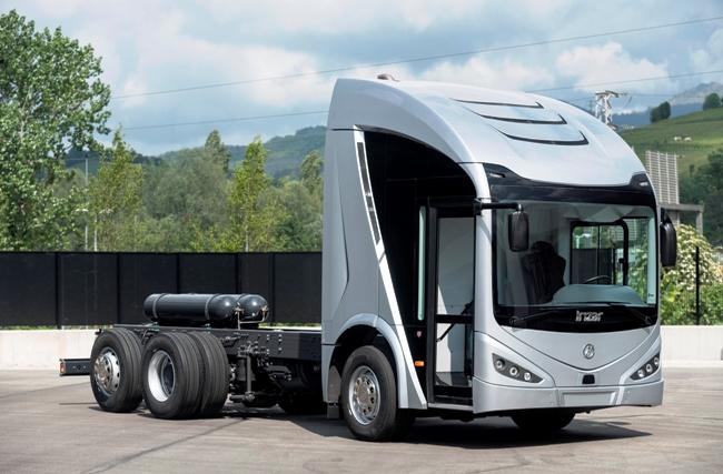 ie-truck е първият електрически камион на Irizar