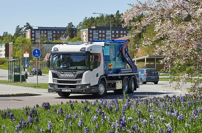 Камиони за града от Scania