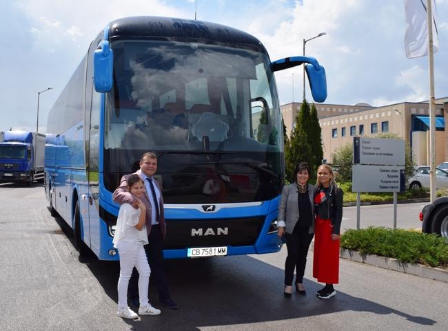 Първа доставка на новия MAN Lion's Coach в България