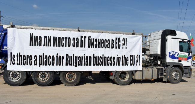 Превозвачите протестират срещу закона Макрон