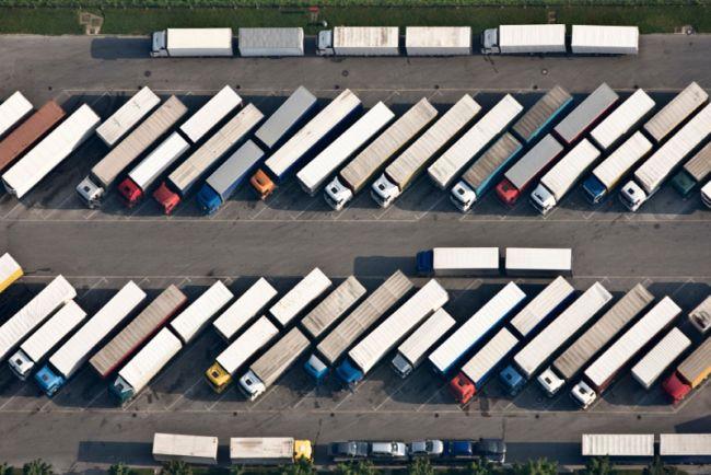 Забрана за камиони на паркингите в Белгия