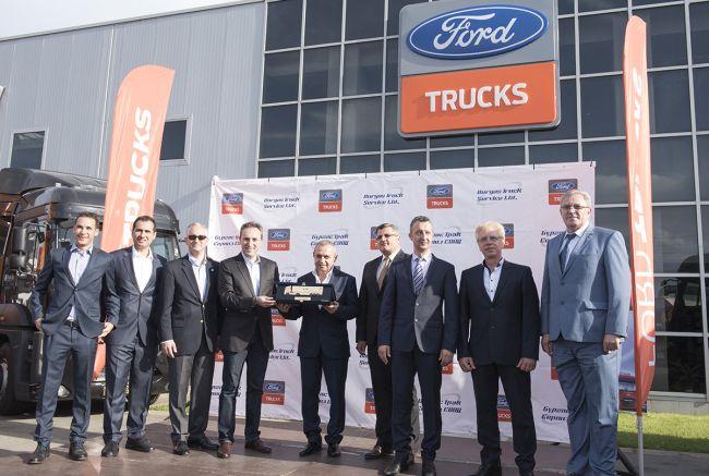 Булавто достави 100 нови влекача Ford Trucks
