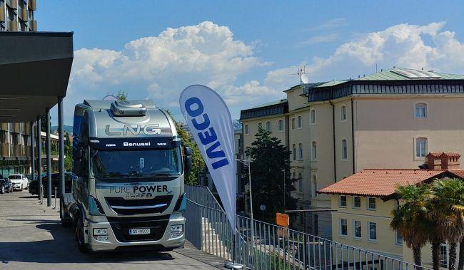 Iveco на газовата конференция в Опатия