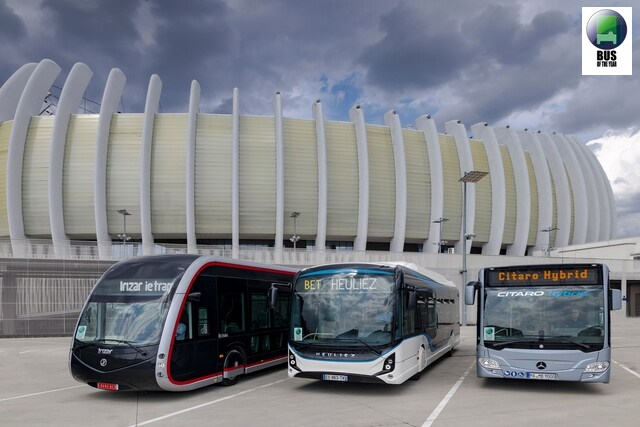 Bus Euro Test 2018 в Загреб