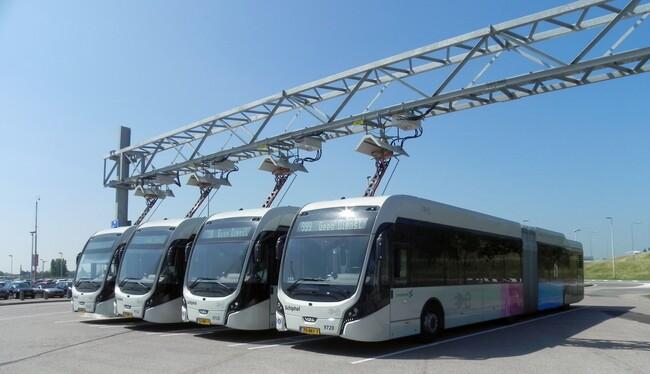 VDL Bus & Coach представи най-големия парк от електробуси в Европа