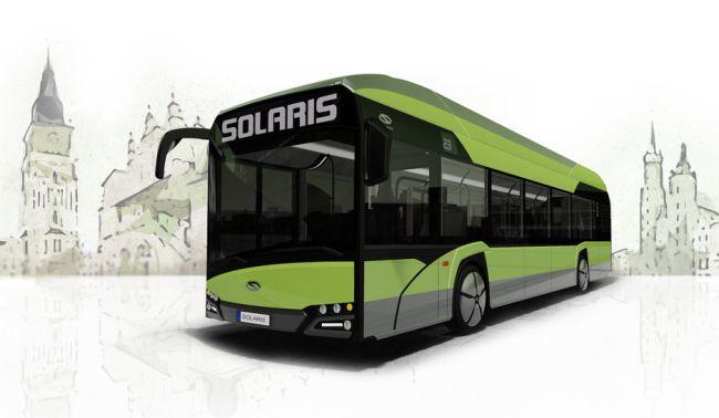 Solaris Urbino 12 на водород през 2019