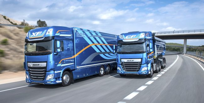 Новите DAF CF и XF – Камион на годината в Словения