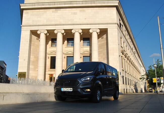 1580,3 км с новия Ford Tourneo Custom