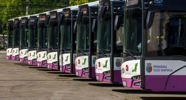11 електробуса Solaris за Клуж-Напока