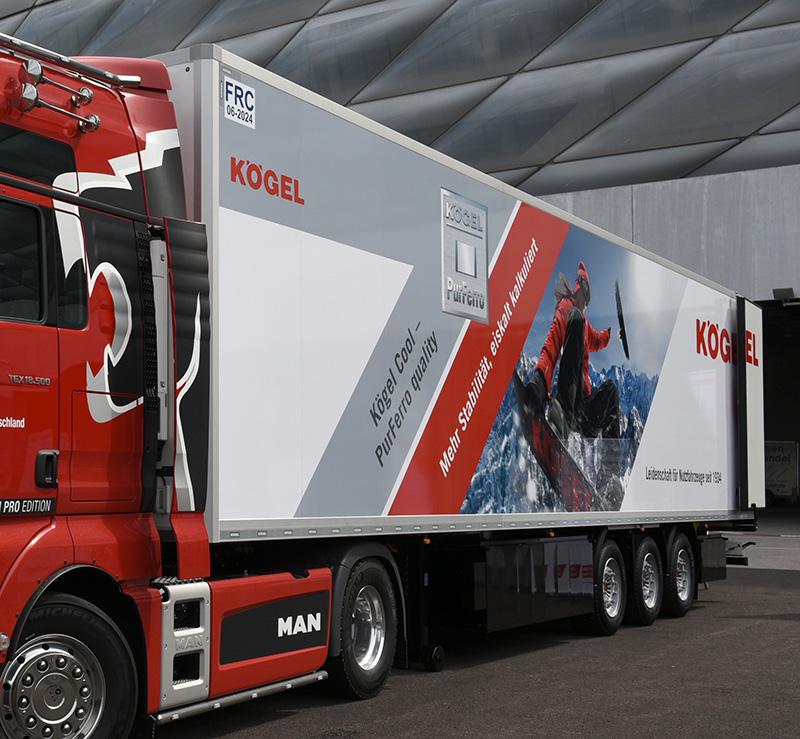 Kögel представи продуктите, с които ще участва на изложението в Хановер