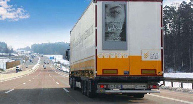 Време е за дигитална реклама по камионите