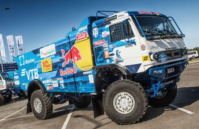 КамАЗ представи новия си състезателен камион