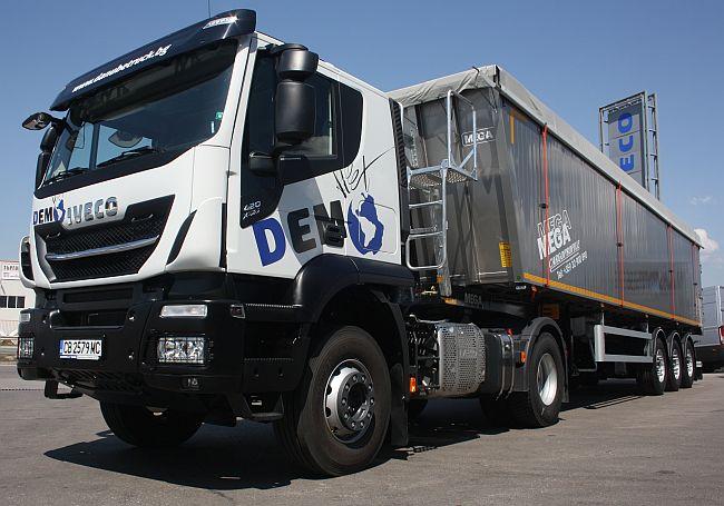 Iveco X-WAY – готов за тест в България (плюс видео)