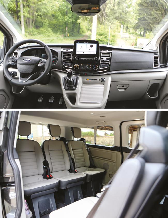 Тест: Ford Transit и Tourneo Custom в ново измерение