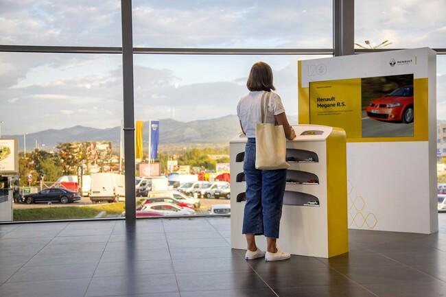 Интерактивна инсталация разказва 120-годишната история на Renault
