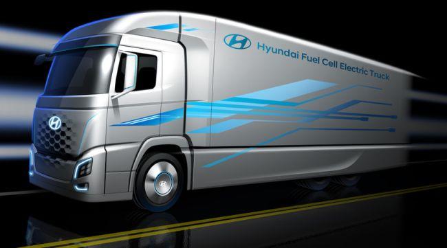 В аванс: камион на водород от Hyundai на IAA 2018