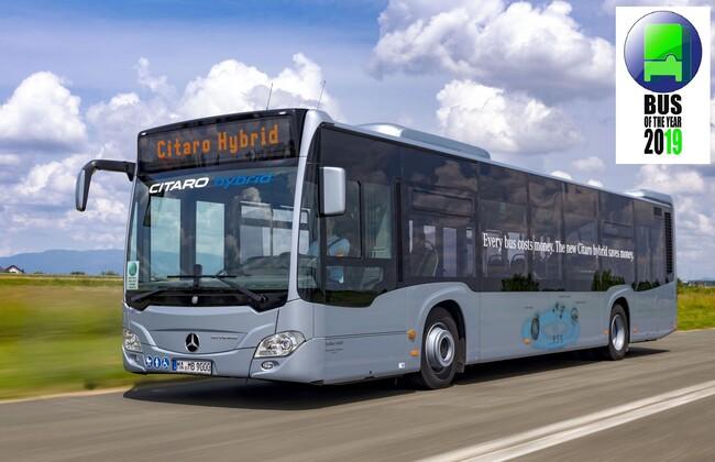 Mercedes-Benz Citaro Hybrid e Автобус на годината 2019!