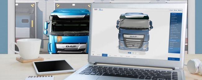 3D конфигураторът на DAF с престижна номинация