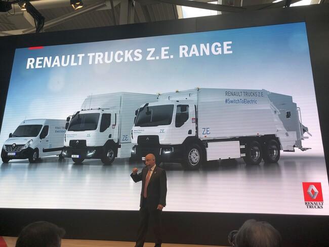 Renault Trucks - от 3 до 26 тона на ток