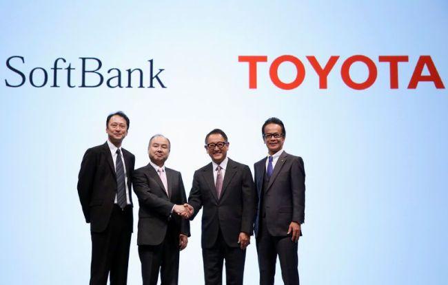 Toyota и SoftBank – заедно в автономността