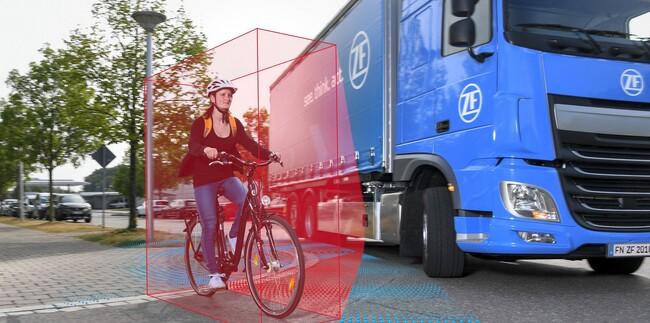 ZF кара камионите да виждат, мислят и действат