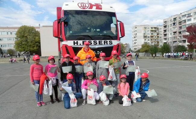 H.Essers проведе уникално обучение по пътна безопасност за деца