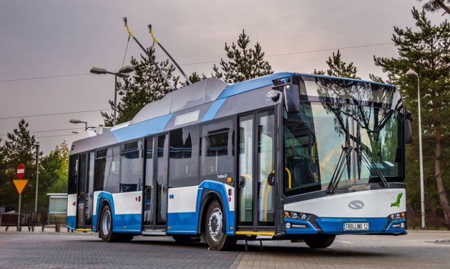 85 тролейбуса Solaris Trollino 12 за Каунас
