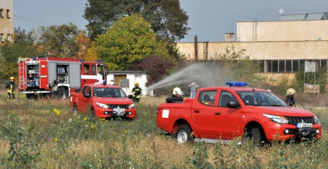3 пикапа Mitsubishi L200 за противопожарни цели