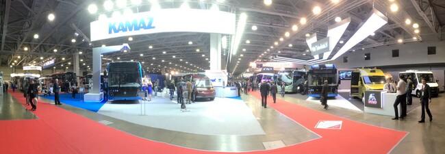 Busworld Russia се проведе за втори път в Москва