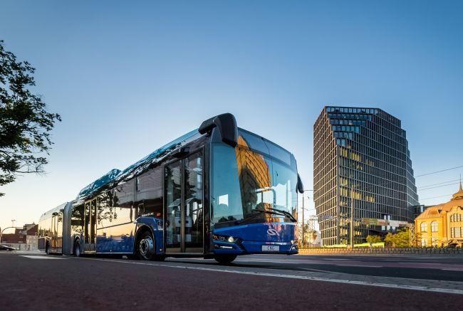 Автобуси Solaris Urbino 18 CNG за Париж