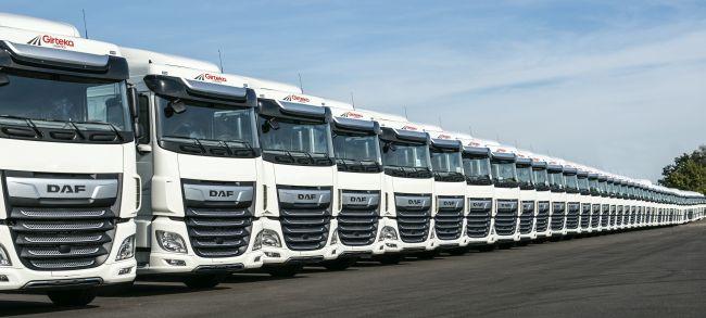 Girteka поръча още 1500 камиона DAF XF